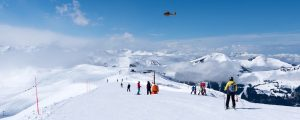 kitzbuhel panorama 300x120 - Mountain Rescue Helicopter Above Alps, Kitzbuhel, Austria