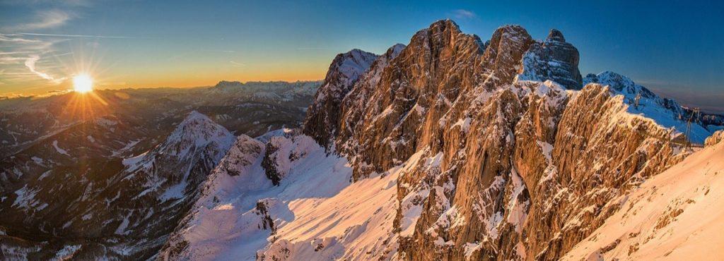 Österrike på vintern
